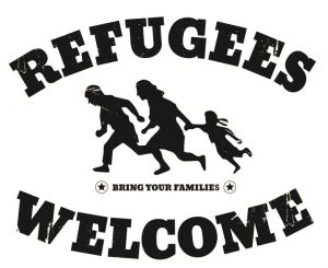 Logo Law Students with Refugees